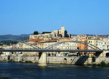 Tortosa and the Ebre river